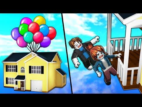 I Used Roblox Admin To Put Their House In The Sky They Fell Out
