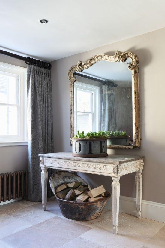 espejos entradas mueble france interiores consola recibidor dorado in de decoracin espejos