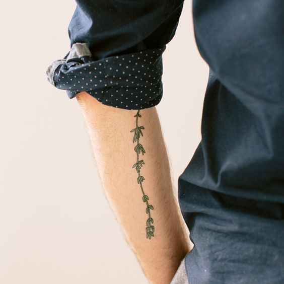 Thyme fake tattoos google and your skin for Tattoo on fake skin