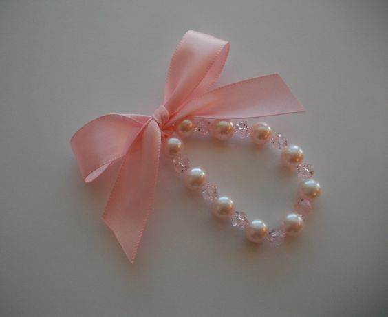 FREE SHIPPING Little Girls Pearl and Swarovski by sophiesboutique, $15.95