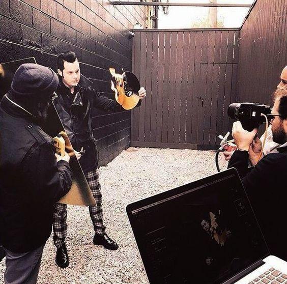 Creo en Jack White: Billboard: el photo shoot completo
