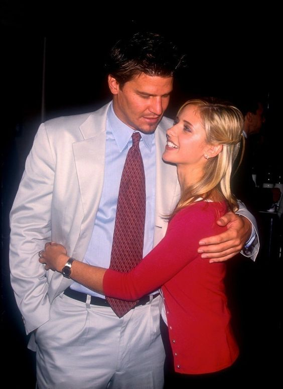 Sarah michelle gellar, Love and David on Pinterest