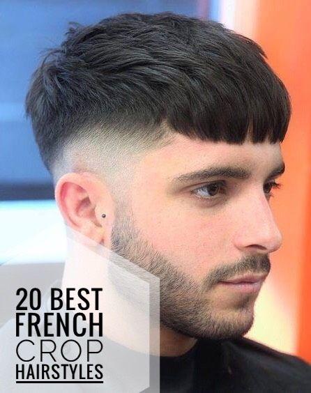 20 Best French Crop Hairstyles Potongan Rambut Pria Gaya Rambut Pria Rambut Pria