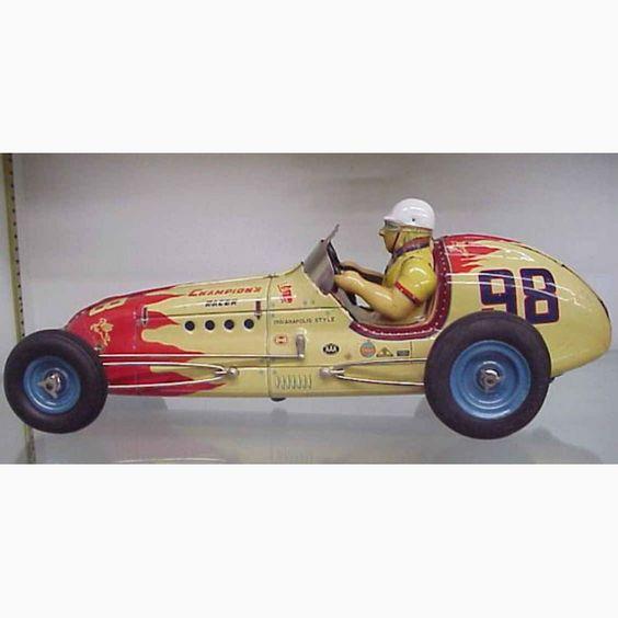 1950s Yonezawa Tin-Race-Cars Friction racer