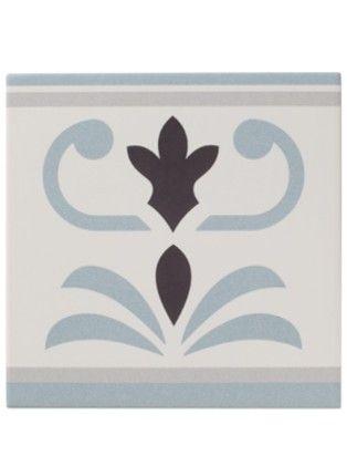 Carrelage carreau aspect ciment bordure valvane 20 20 for Carrelage st maclou