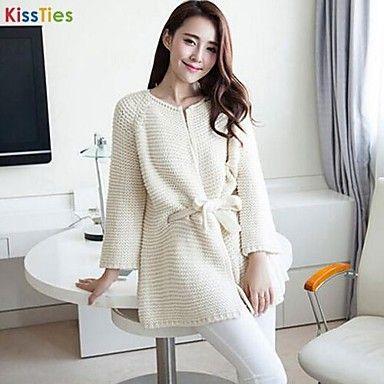 KissTies®Women's Korea Style Loose Leisure Sweaters Cardigan – USD $ 4.05