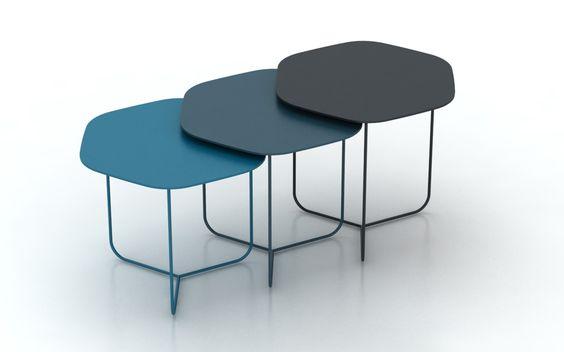 Tables basses Pétales de Yota Design