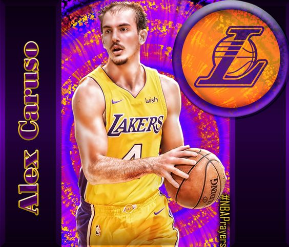 Nba Player Edit Alex Caruso Nba Players Basketball Players Basketball Teams