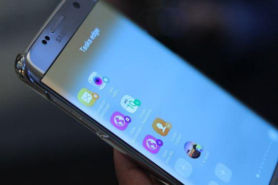 Samsung Galaxy S7 estão a deixar a Apple para trás