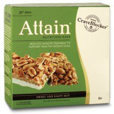 Sweet & Salty Nut - The yummiest meal replacement bars you will ever try! They don't taste like Cardboard!