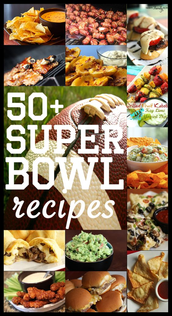 50+ Super Bowl Recipes - We thought that we would compile a list of our favorite Super Bowl recipes for you to have on hand for the big game coming up! We have a little bit of everything for ya… meaty, salty, sweet, dips… everything you could possibly need for the Super Bowl (or any tailgate party really)!: