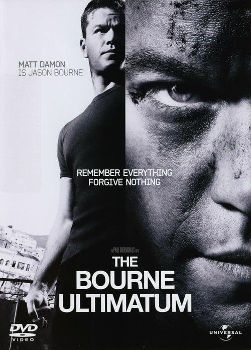 Regarder The Bourne Ultimatum Film Complet Streaming 720p In Francais Dubbed The Bourne Ultimatum Jason Bourne Matt Damon