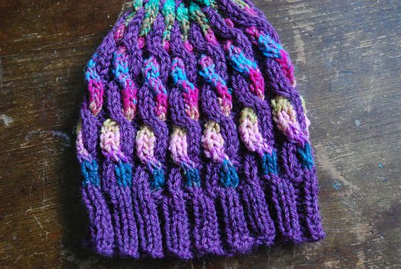 Ravelry: Rainbow Swirl Hat pattern by Kitty Adventures