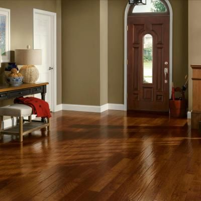 Apple cinnamon engineered hardwood and vintage on pinterest for Bruce wood flooring