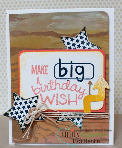 Unity Stamp Co. Design Team Member - @Lisa Phillips-Barton Kramer Henke - Using Unity Stamp Co. - Stephanie Ackerman Designs - {Here's My Thoughts} http://www.unitystampco.com
