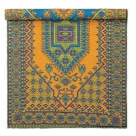 Love the colors in this rug...reminds me of my trip to Morocco when I was too young and broke to afford to buy a rug