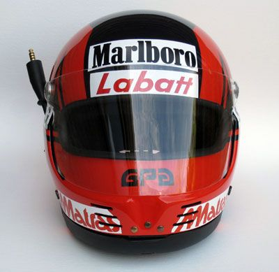 Replica helmet Gilles Villeneuve 1980