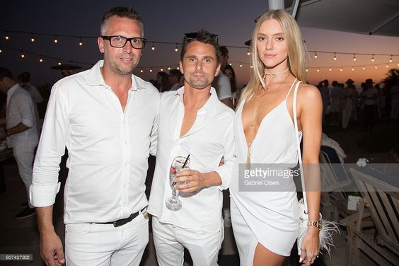 Steve Shaw, Matt Bellamy and Elle Evans attend the Treats! Magazine 4th Annual…: