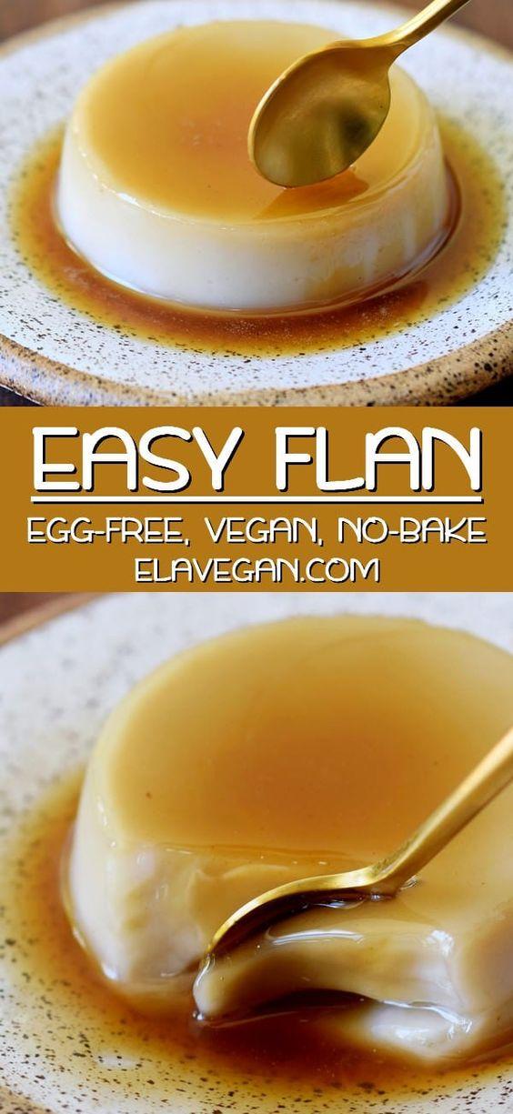 Vegan Flan (Crème Caramel)