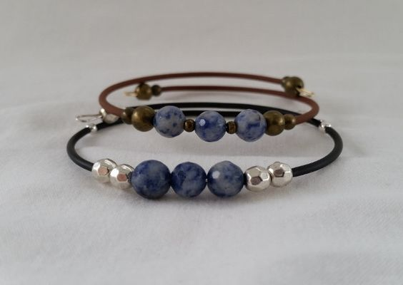 Sodalite Gemstone Bangle