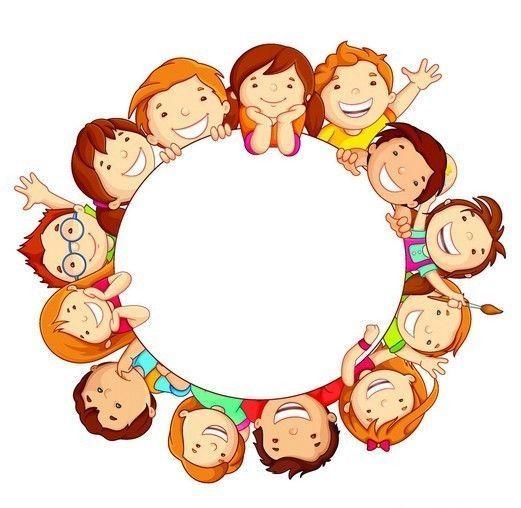 Enfant Dessine Clipart Recherche Google Kids Background Clip Art Happy Kids
