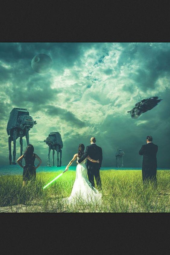 explore star wars wedding