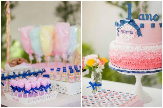 Festa Infantil Boneca de Papel - 1 ano da Valentina   Decoração: Festa com Gosto, Fotografia: Giselle Sauer
