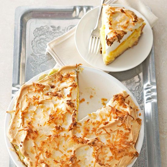 Triple-Coconut Cream Pie