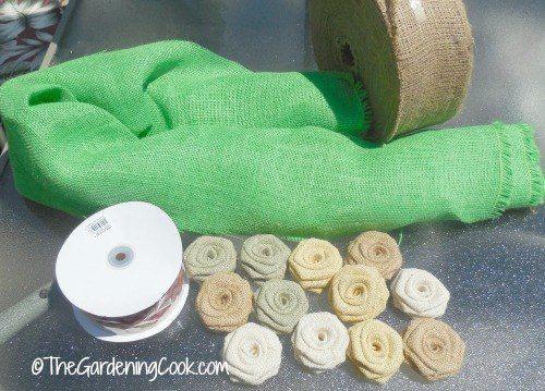 DIY Burlap Wreath - Make It in An Afternoon