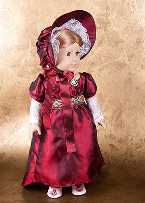 Burgundy Holiday Regency Dress Evening Ball Gown for Caroline by alxgr2006   eBay