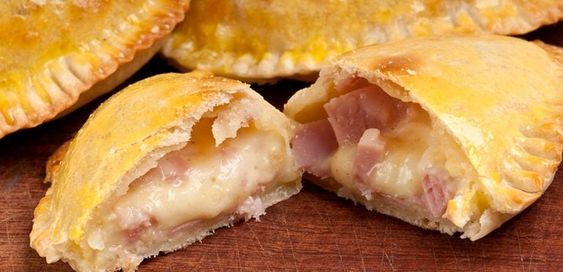 Empanadas caseras de jamón y queso