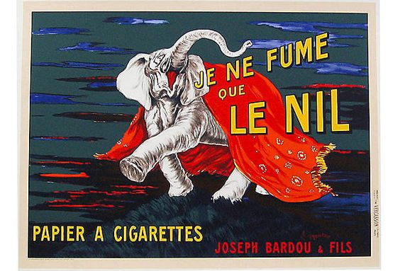 je fume que le nil (i only smoke nils) by cappiello.