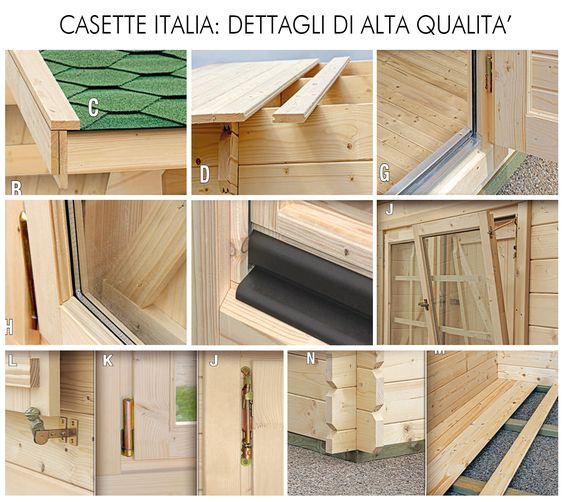 Garage in legno, garage prefabbricato in legno, box auto legno ...