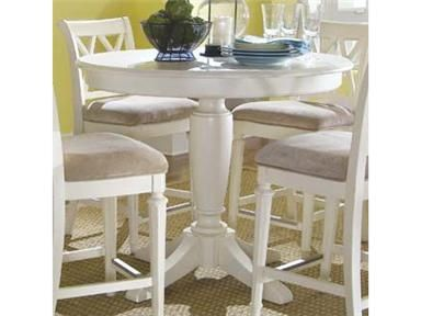 Counter Height Utility Table : ... height pedestal pedestal tables 920 707r round counter counter height