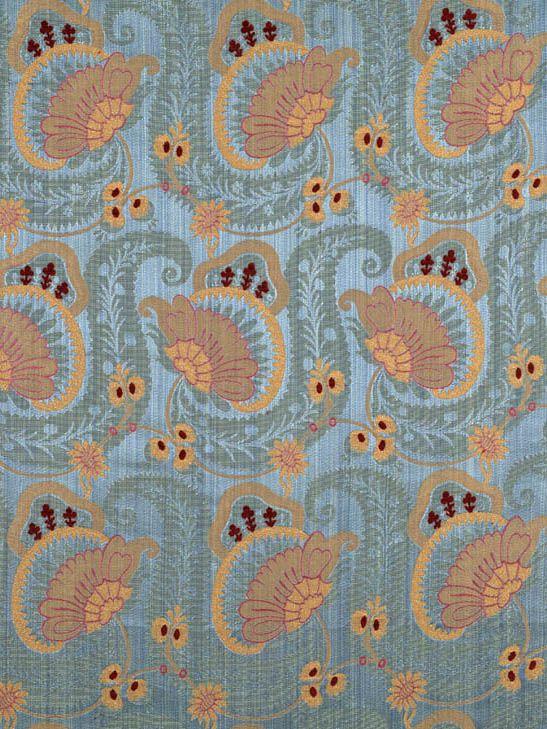 Scalamandre Anemone - slate blue