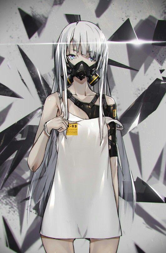 Pin Oleh Min Kitty93 Kitty Di Anime White Hair Gadis Animasi Inspirasi Karakter Seni Anime