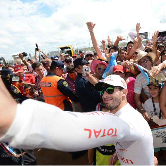 Sonrían para el campeón. #CitroënTotal  #WTCC #TermasdeRíoHondo