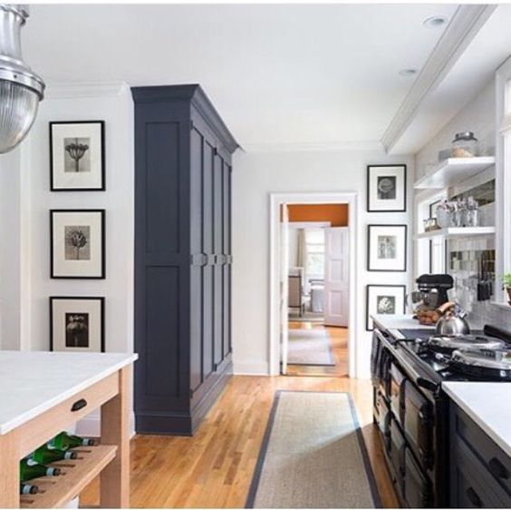 Floor to ceiling built in cabinetry in kitchen - change ...