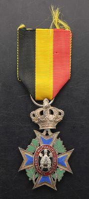 """""""Zilveren medaille Onderlinge Bijstand"""", Belgium - Europeana 1914-1918 CC-BY-SA"""