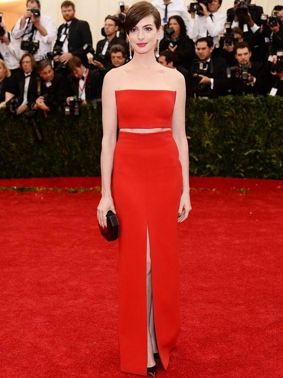 Anne Hathaway #MetGala: