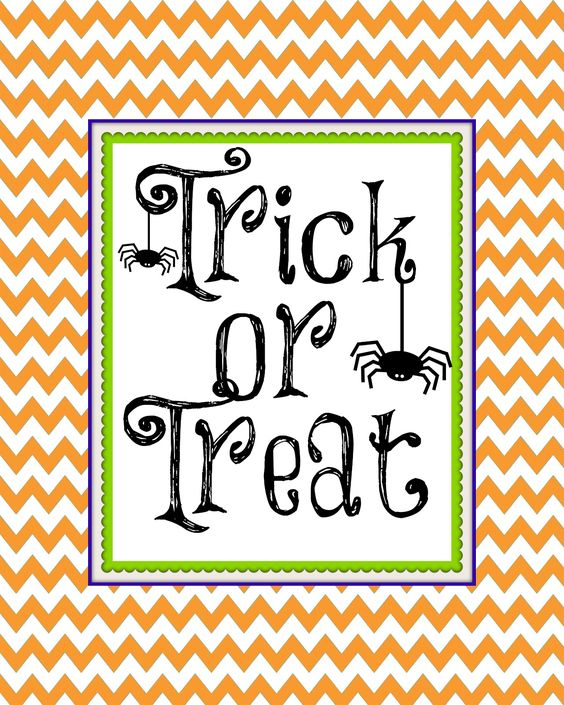 Second Chance to Dream: Free Halloween Printable: