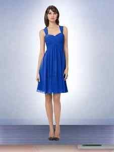 Bill Levkoff Cobalt Blue Dress, Size 6 London Ontario image 1