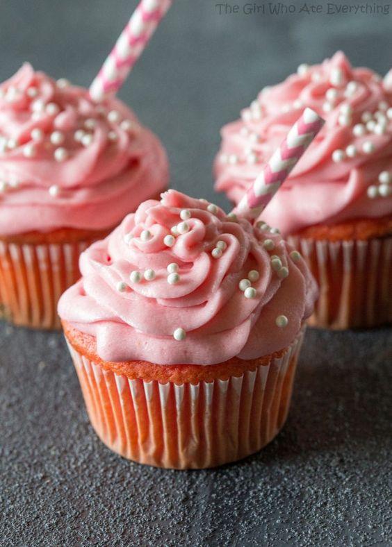 Milkshake cupcakes, Strawberry milkshake and Milkshakes on Pinterest