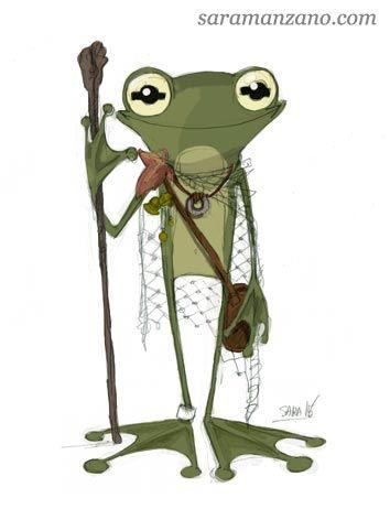 Daily Sketch 05/01/2016 Dibujo, draw , ilustración, illustration, cartoon, sketch, boceto, rana, frog