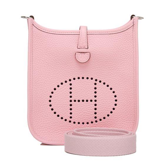 hermes bags - Hermes Evelyne Rose Sakura Clemence TPM | Hermes, Roses and Dallas