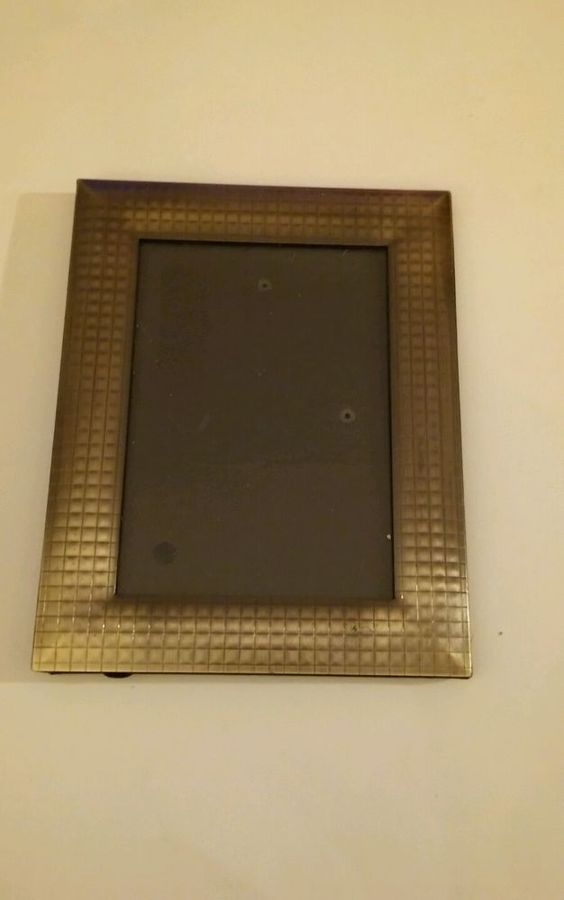 Details About Nice Metal Picture Frame 8x6
