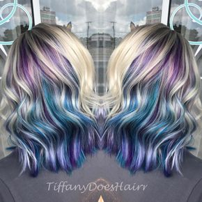 Pin By Mariah Patterson On Hair In 2019 Purple Blonde Hair