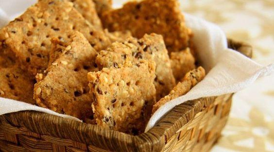 Receita: biscoito integral de gergelim com linhaça (Foto: Divulgação)