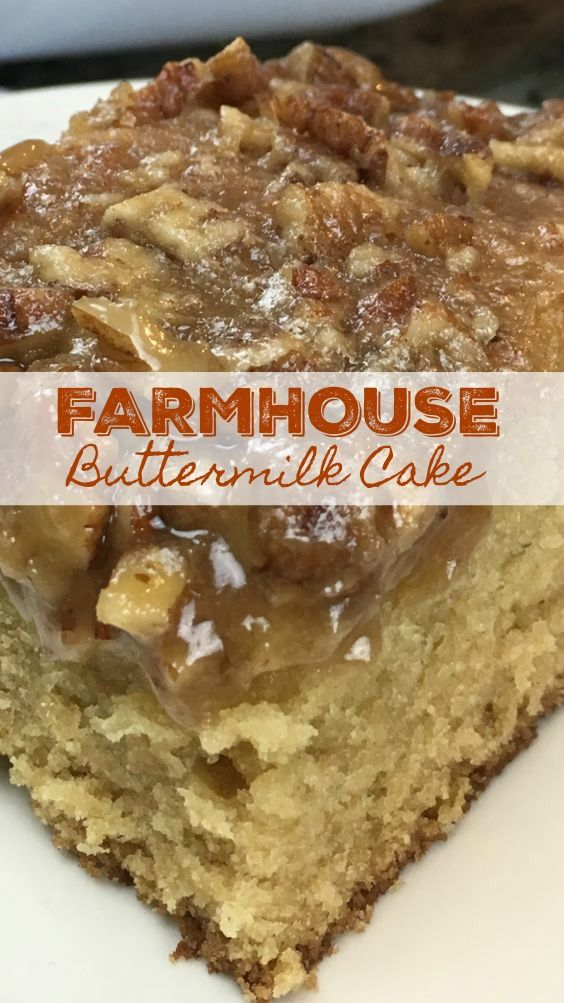 Farmhouse Buttermilk Cake Unique Cakes Recipes Buttermilk Recipes Cakes Made With Buttermilk