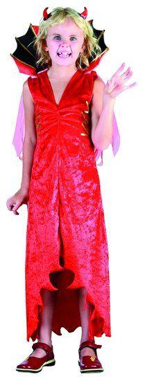 Duivel kostuum kind #duivelin #duivelpak #duiveljurk #duivelkostuum